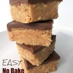 No Bake Peanut Butter Bars