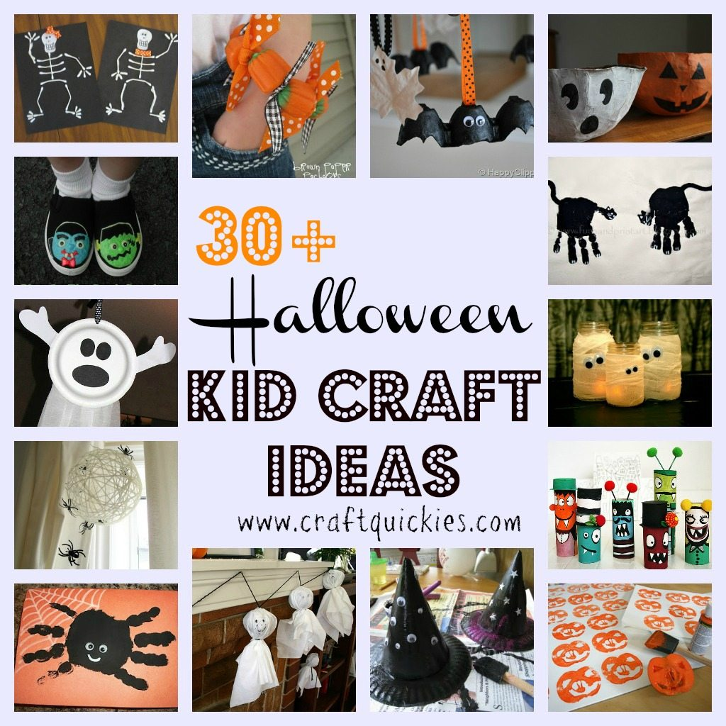 30 halloween kid craft ideas for Halloween decorations crafts to make