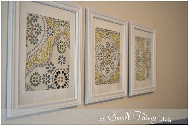 Small Wall Art napkin wall art - bombshell bling