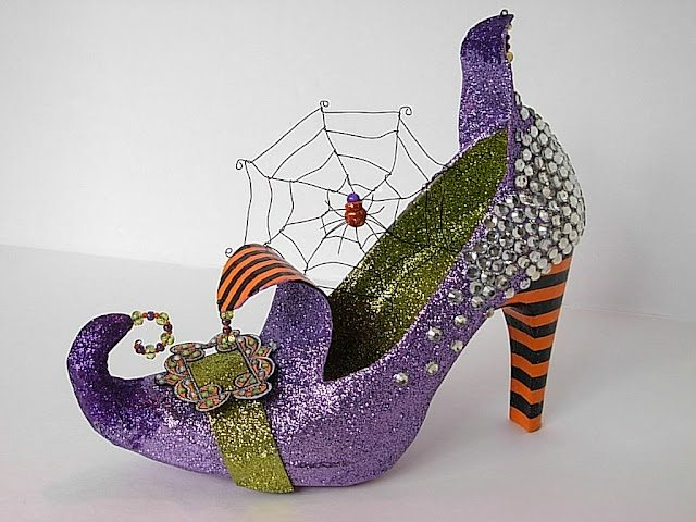 witch shoe