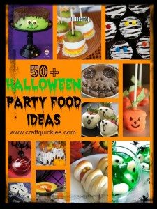 50+ Halloween Party Food Ideas