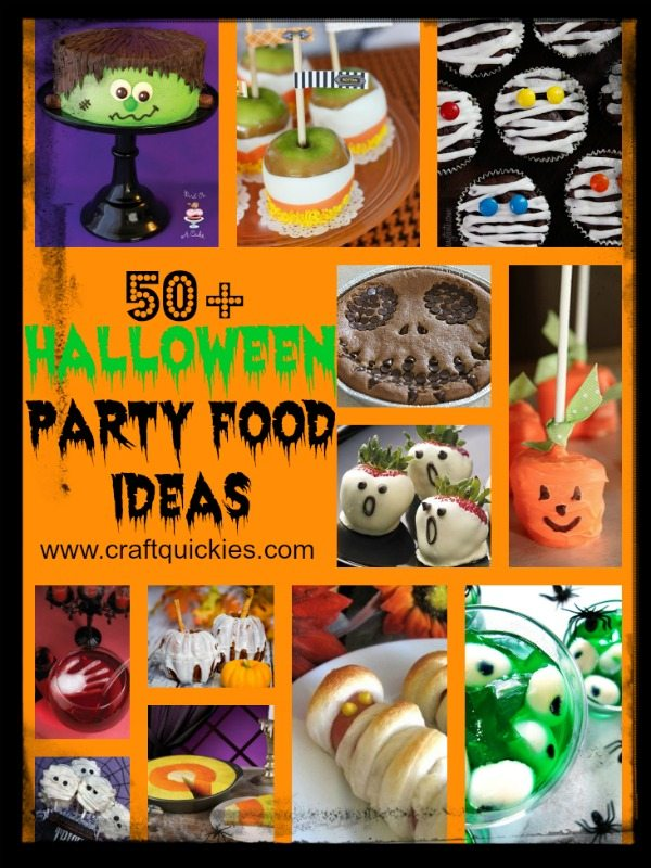 50 Halloween Hair And Makeup Tutorials: 50+ Halloween Party Food Ideas