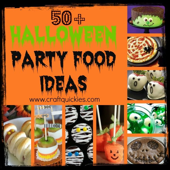 Halloween Party Food Ideas 50 Spooktacular Recipes