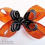 Boutique Hair Bow Tutorial - Halloween