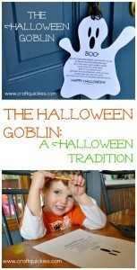 The Halloween Goblin: A Halloween Tradition