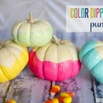 color-dipped-pumpkins