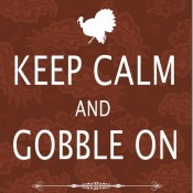 Keep Calm and Gobble On Tutorial