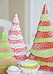 0 cupcake liner trees