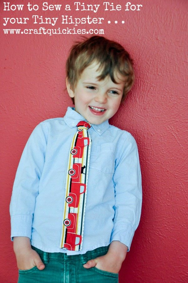 How to make a skinny tie for your tiny hipster there is nothing cuter than a tiny fellow dressed up like a dapper man dont you think i have way too much fun dressing my son and my nephew up in bow ccuart Image collections