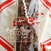Rocky Road Fudge from Ella Claire