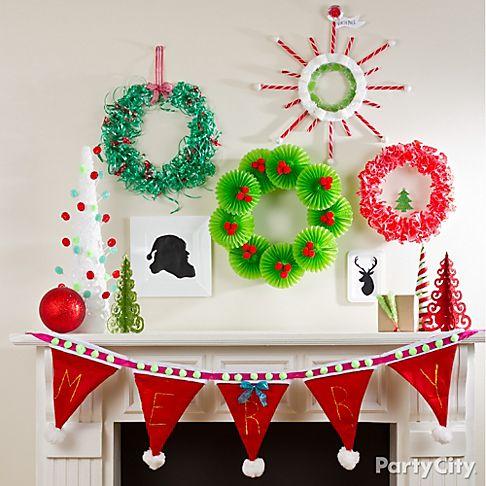 Christmas Decor Craft Ideas Christmas Lights Card And Decore - Christmas decoration craft ideas