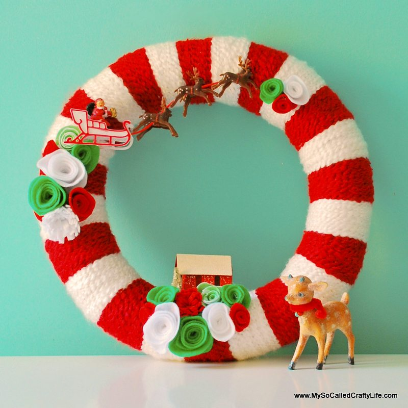 as for today here are twenty festive ideas for handmade christmas wreaths whether you like traditional funky silly or glittery wreaths these ideas are - Horseshoe Christmas Wreath