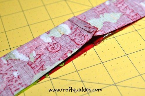 skinny tie fold length