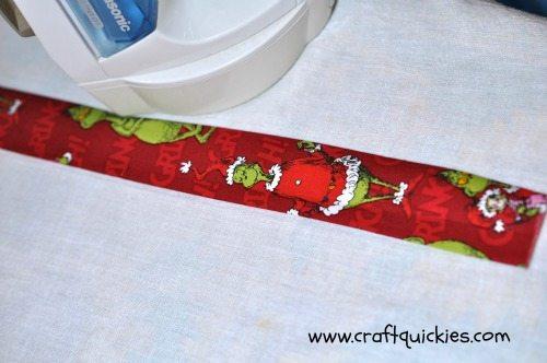 skinny tie iron grinch