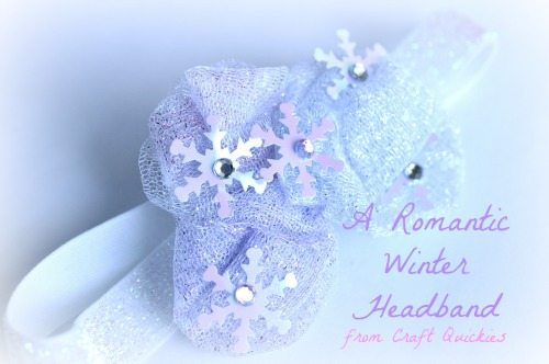 A Romantic Winter Headband from Craft Quickies