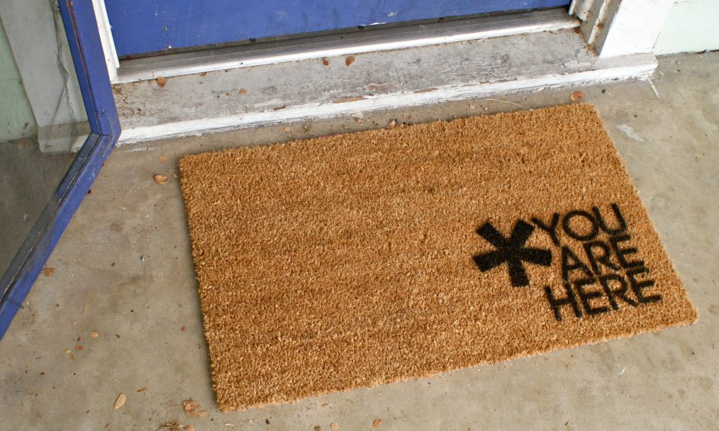 A Simple Welcome Mat