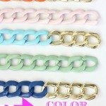 DIY-Chain-Bracelet-with-a-Pop-of-Color