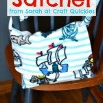 Simple Fleece Satchel from Sarah at Craft Quickies
