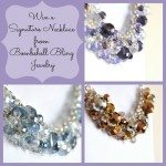 Win a Signature Necklace from Bombshell Bling Jewelry and Craft Quickies