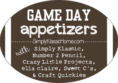 appetizers big game title