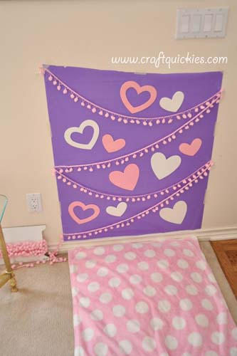 How to Set Up a Valentine's Day Photo Shoot from Craft Quickies 1