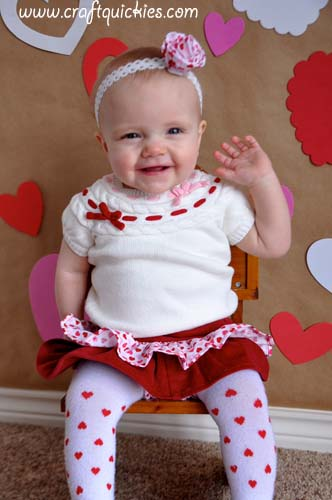 How to Set Up a Valentine's Day Photo Shoot from Craft Quickies 12