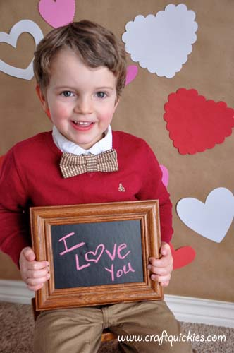 How to Set Up a Valentine's Day Photo Shoot from Craft Quickies 14