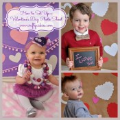 How to Set Up a Valentine's Day Photo Shoot from Craft Quickies