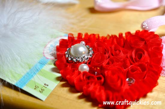 Shabby Heart Headband Tutorial 2