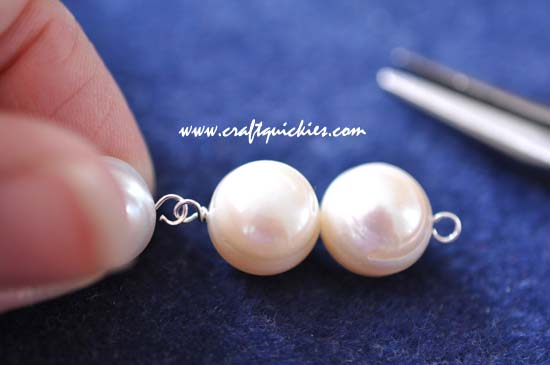 Triple Stack Pearl Earrings 11