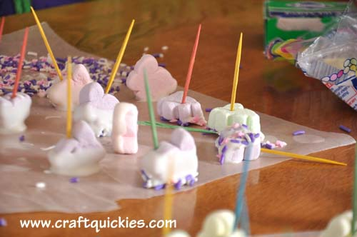 Bunny Marshmallow Dippers from Craft Quickies 6