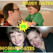 Daddy Dates vs Mommy Dates by Sarah at Craft Quickies