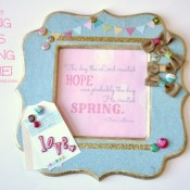 Dear Lizzy - Hope Springs Frame from Craft Quickies