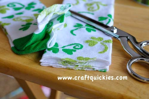 Lucky Legs - How to Make Baby Legwarmers from Craft Quickies3