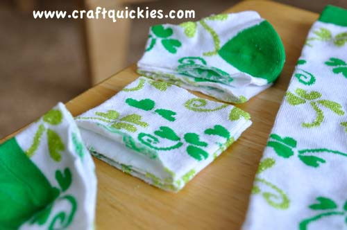 Lucky Legs - How to Make Baby Legwarmers from Craft Quickies4