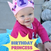 Free pattern for the CUTEST birthday crown from Craft Quickies! It is so easy and totally customizable!.