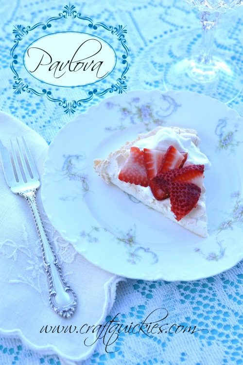 Pavlova Recipe - the perfect summer dessert! Light, simple, and DELICIOUS! It is shockingly diet-friendly, too!
