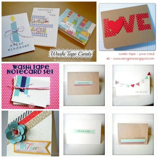 Washi Tape Ideas: Washi Tape 30+ Easy, Fun & Simple Ideas For Crafting
