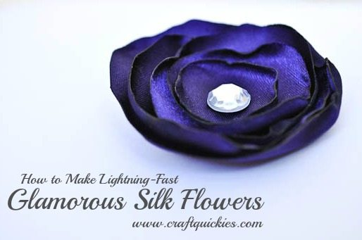 How to make lightning fast glamorous silk flowers today i am here to tell you how to make what is probably my favorite type of flower to make glamorous silk flowers my friend emily taught me how to mightylinksfo