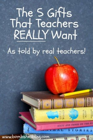 Teacher Gifts The Top 5 Your Child S Teacher Really