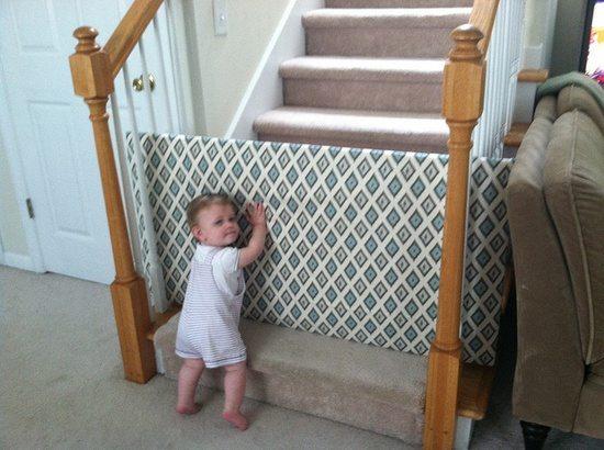 Homemade Baby Gate