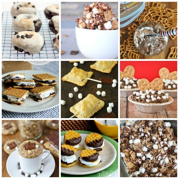 Roundup of 75 AMAZING S'mores Recipes!