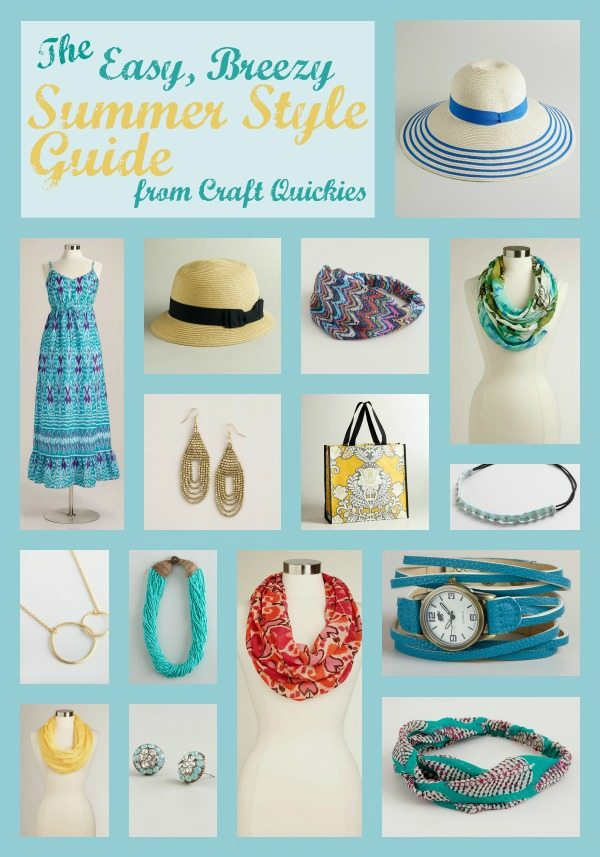 The Easy, Breezy Summer Style Guide for the Lazy Mom! #WorldMarket