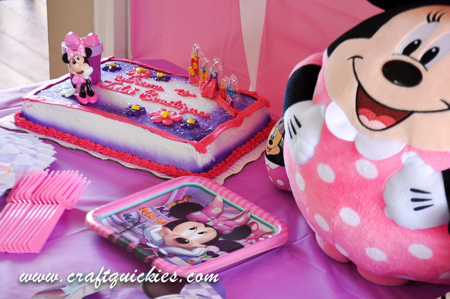Minnie Mouse Party Bowtique