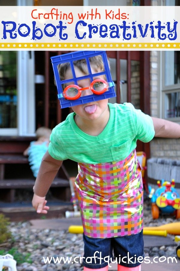 Get creative and help your little one dress up like a robot with this fun idea and list of robot books!