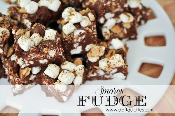 S'mores Fudge by Craft Quickies