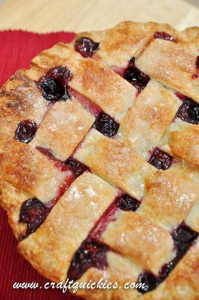 Three Berry Pie Test Kitchen