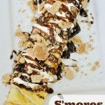 S'mores crepes....YUM!