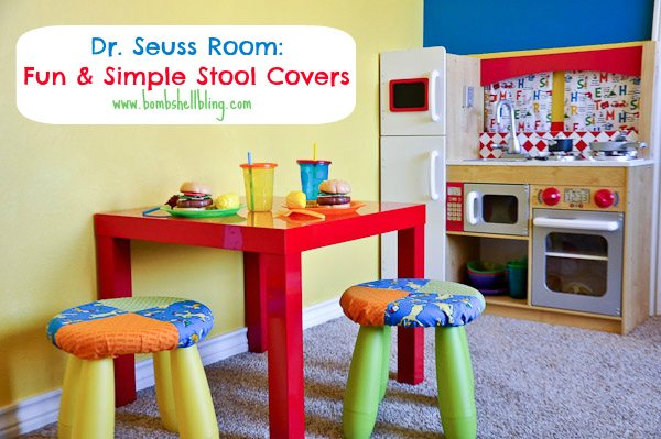 I am excited to be back with another installment in the Dr  Seuss bedroom  series  Have you checked out my boy s Dr  Seuss bedroom yet. Fun  Simple Stool Covers