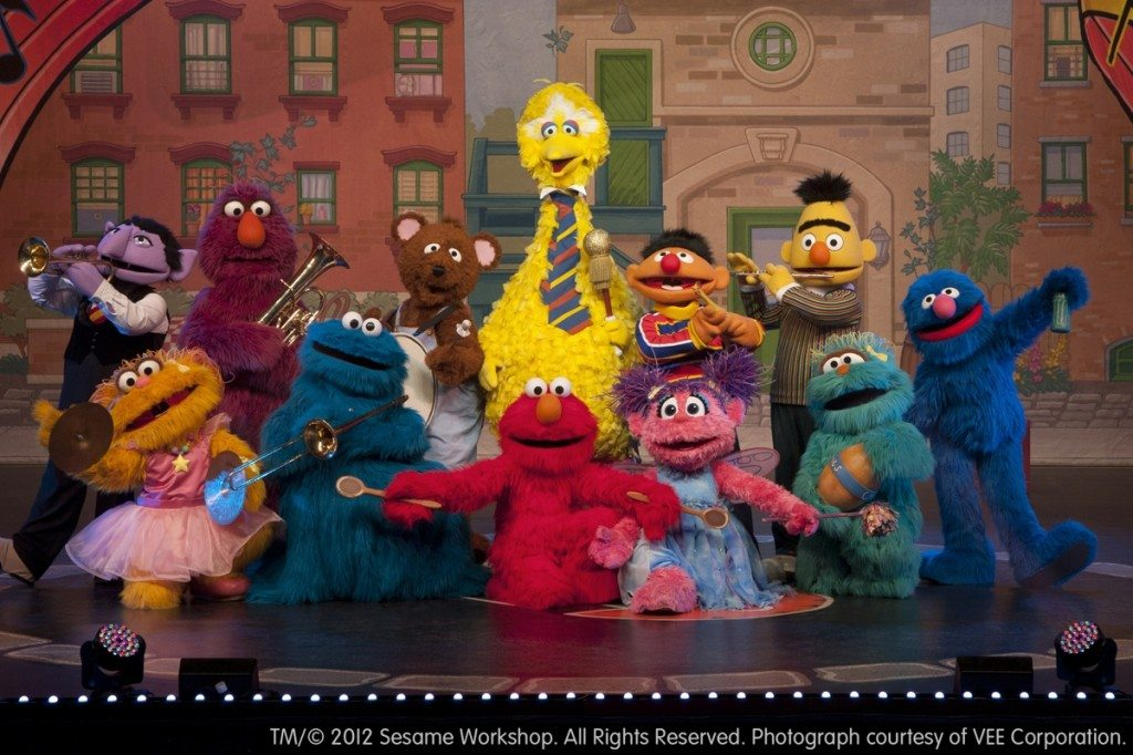 Win a 4 pack of tickets to see Sesame Street Live!